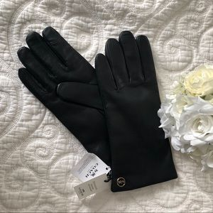 Coach Sheep Skin Leather Gloves Size 8